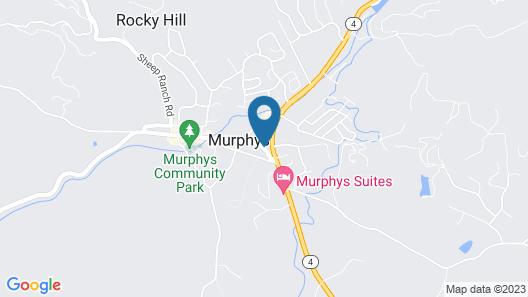 Murphys Inn Motel Map