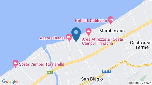 Holiday Home Salica Map
