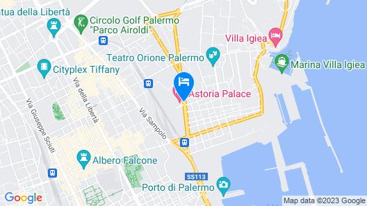 Astoria Palace Hotel Map