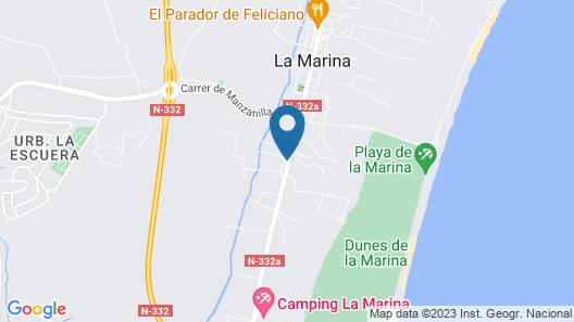 Hotel Montemar Map