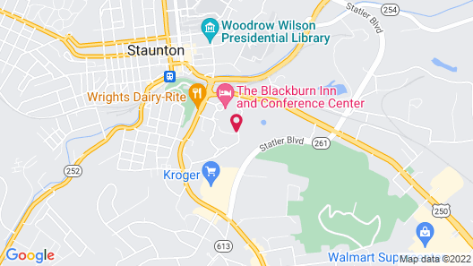 The Blackburn Inn and Conference Center  Map