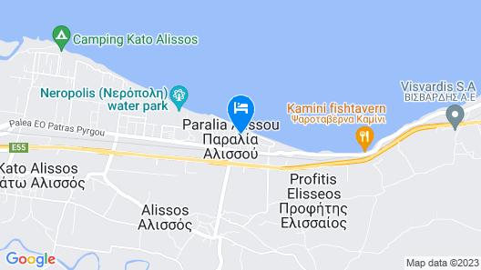 Castella Beach Map