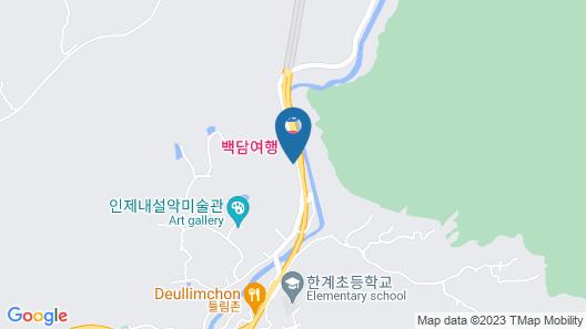 Hotel Baekdam Map