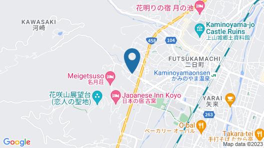 Bekkan Fujiya Ryokan Map