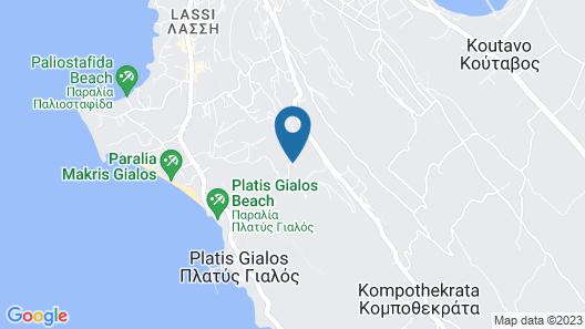 Dionysos Village Resort Map