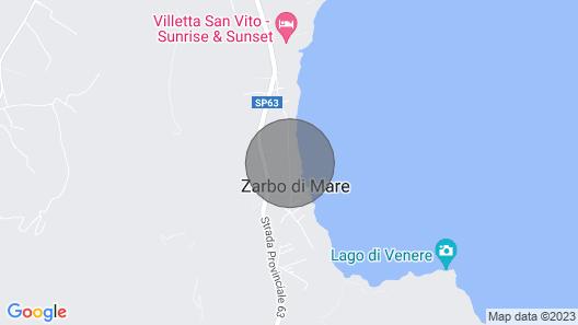 Casale Zefiro - San Vito Lo Capo Map