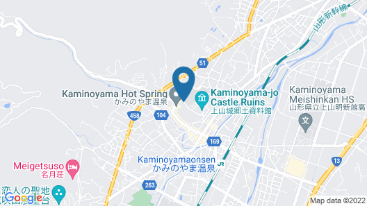 Senkeien Tsukioka Hotel Map