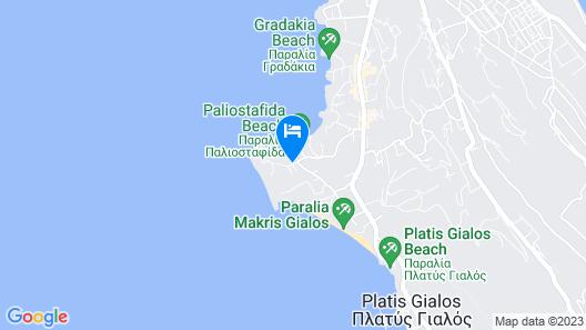 Thalassa Boutique Hotel Map