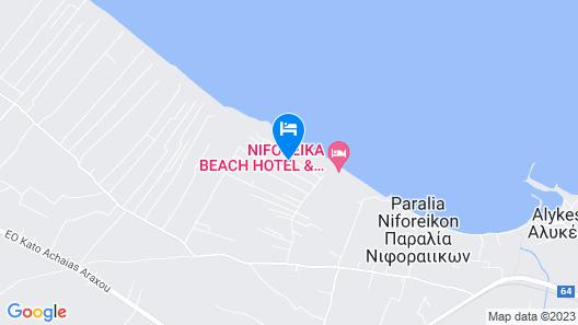Naiades Villas Map