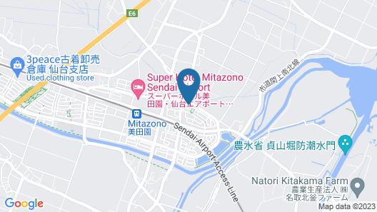 Weekly-Sho Sendai Natori Map