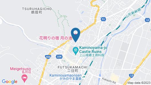 Tsukinoike Map