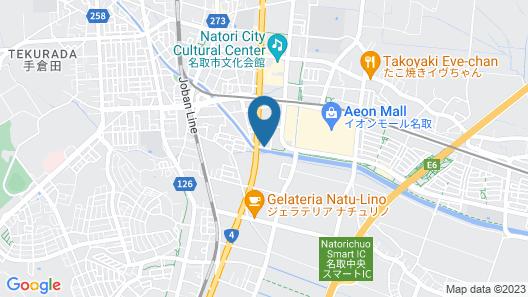NATORI HOTEL STAYMORE Map