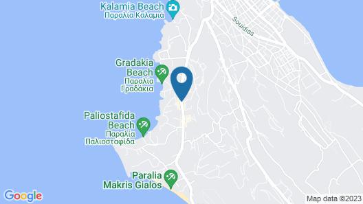 Tzivras Villa & Apartments Map