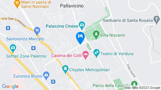 Villa Lampedusa Hotel & Residence Map