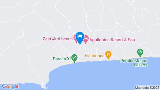 Apollonion Asterias Resort and Spa Map