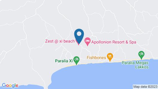Zest @ Xi Beach Map
