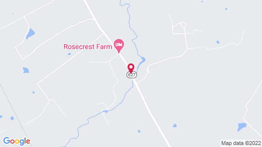 The Guesthouse at Rosecrest Farm Map
