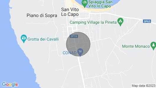 Metrosideros Holiday House - Angela Apartment Map