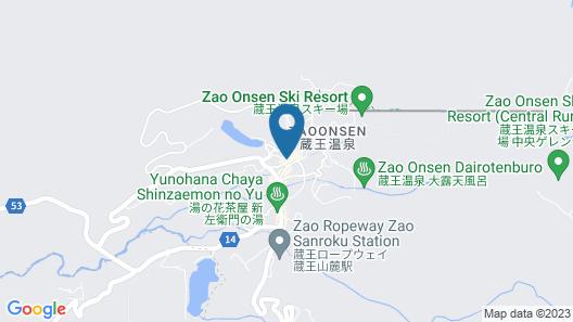 Takasagoya Ryokan Map