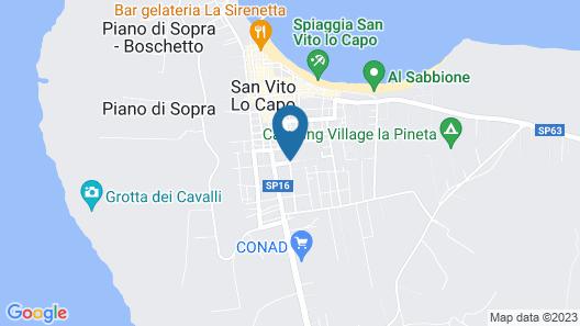 San Vito Lo Capo Arimondi 1 Map