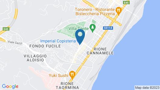 B&B Villa Dante Map