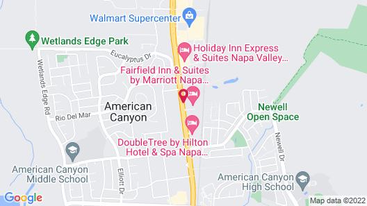 Fairfield Inn & Suites by Marriott Napa American Canyon Map