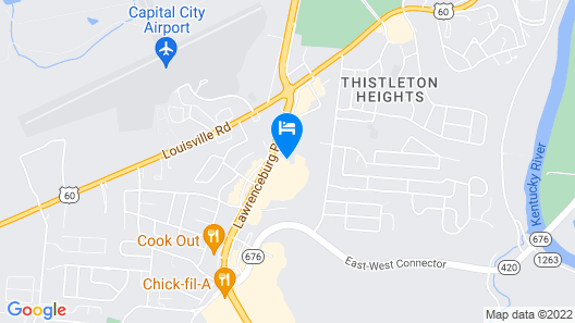 FairBridge Inn Express Frankfort Map