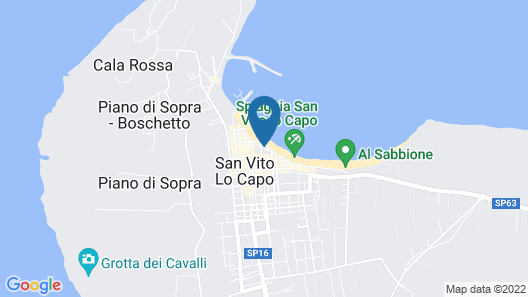 Hotel Mira Spiaggia Map