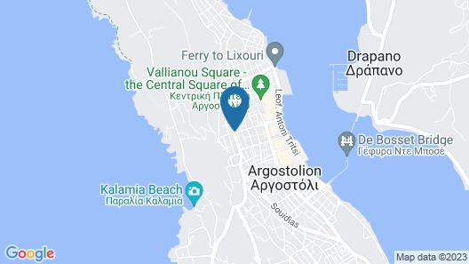 Marias Garden Apartments Map