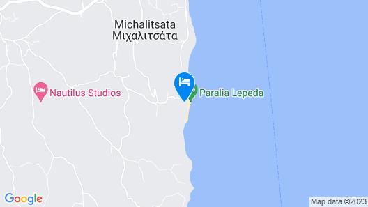 Alekos Beach Houses-Amalia  Map