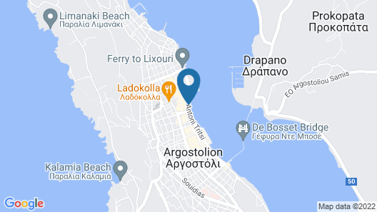 Kefalonia Grand Hotel Map