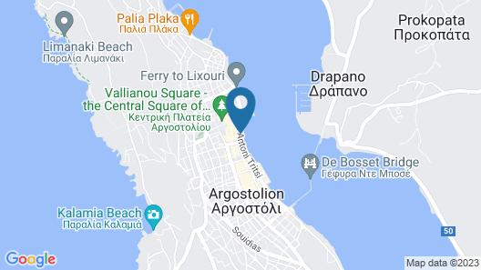 Kefalonia Grand Hotel Map