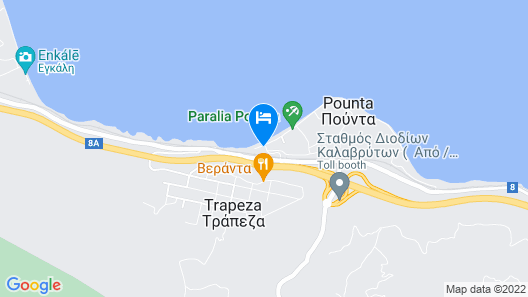 Stavento Apartments Map