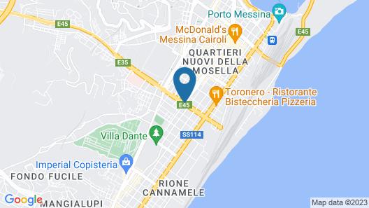 Vmaison Hotel Map