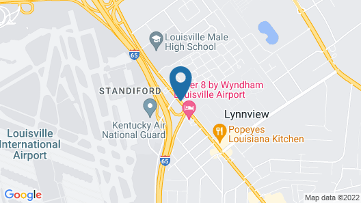 Red Roof Inn Louisville Expo Airport Map