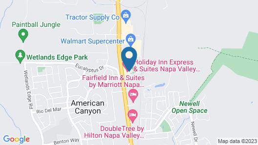 Holiday Inn Express & Suites Napa American Canyon, an IHG Hotel Map