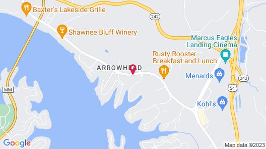 The Lodge at Port Arrowhead Map