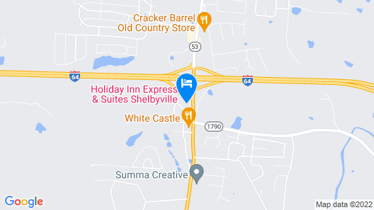Holiday Inn Express & Suites Shelbyville, an IHG Hotel Map
