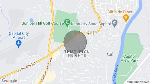 Capital City Condo #3 Map