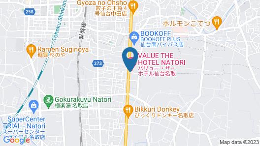 Value The Hotel Sendai Natori Map
