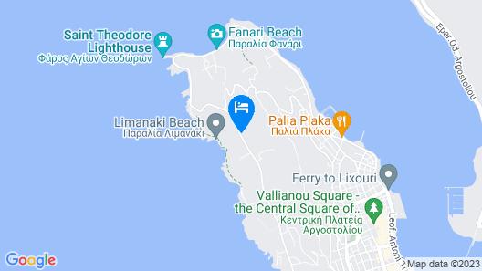 Limanaki Hotel Map