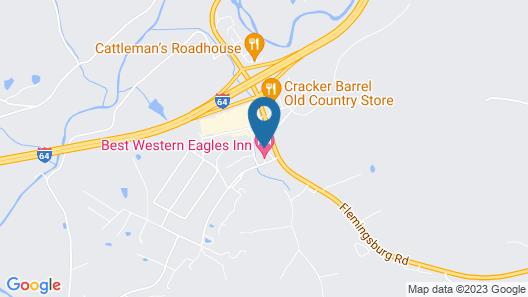 Best Western Eagles Inn Map