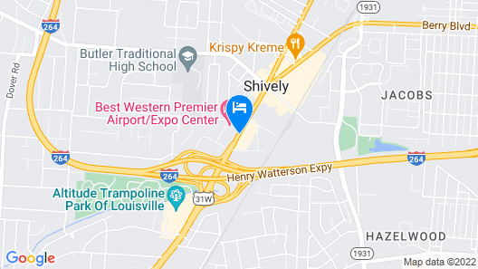 Best Western Premier Airport/Expo Center Hotel Map