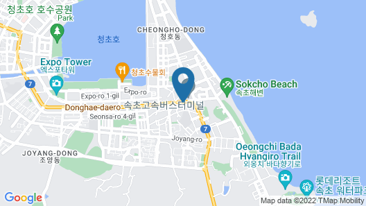 WITH U Hotel & Guesthouse Map