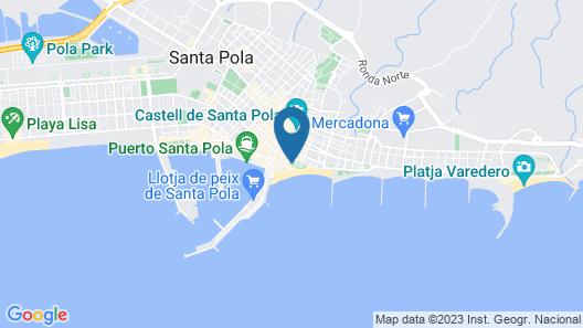 Hotel Polamar Map