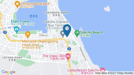 Good Morning Family Hotel Map