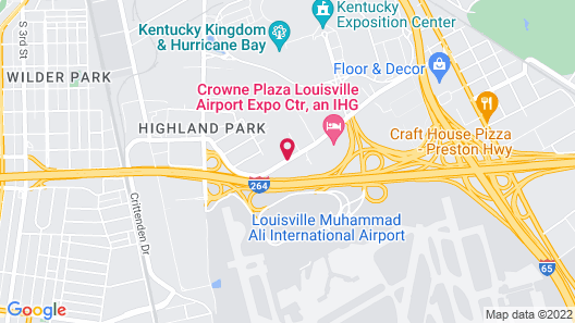 Residence Inn by Marriott Louisville Airport Map