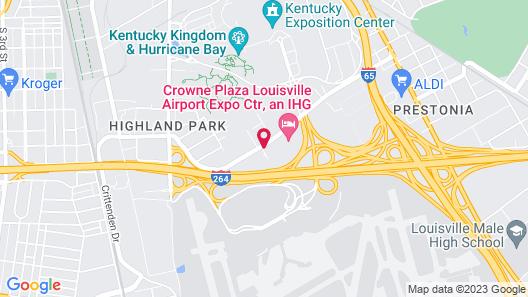 Tru by Hilton Louisville Airport Map