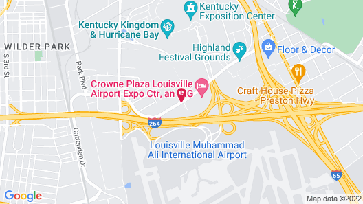 Howard Johnson by Wyndham Airport Map
