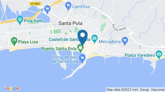 Hostal Quatre Llunes Map